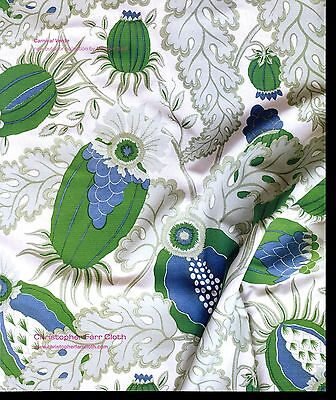 2011 Carnival Verde Cloth Christopher Farr Coth print ad Green Blue White