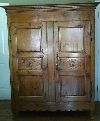 French Antique Wardrobe