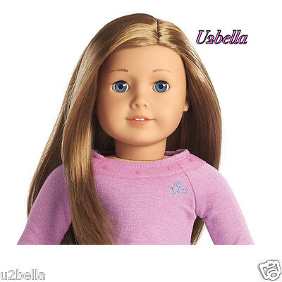 NEW AMERICAN GIRL TRULY ME Doll: Light Skin, CARAMEL HAIR, BLUE Eyes 39 NEW Box