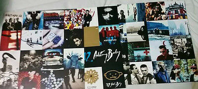 U2 Achtung Baby Vinyl Records With Stickers And Lyric Book