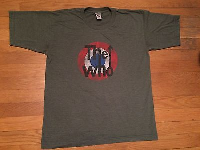 Vintage The Who Classic Rock T-Shirt Made In Usa Size Medium