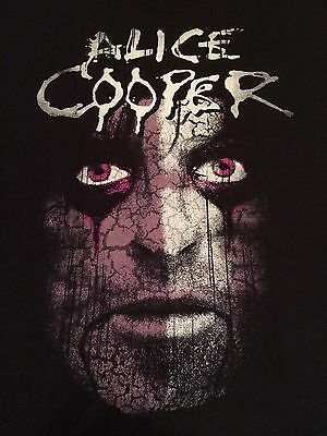 Alice Cooper Psycho Drama Tour 2008 Concert T-Shirt Xl