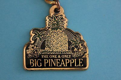 The One & Only Big Pineapple Keyring Keychain