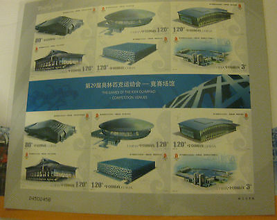 Beijing 2008 Stamps Olympic Games Venues