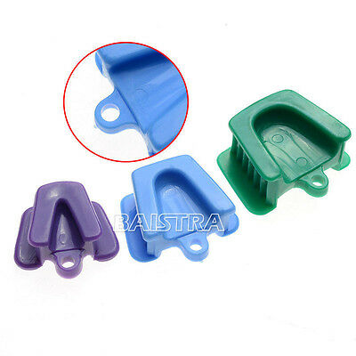 6pcs Dental Autoclavable Impression Tray Silicone Mouth Prop