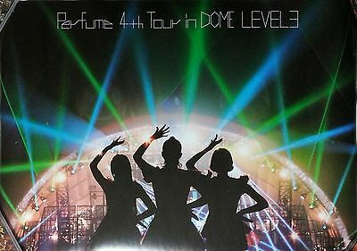 Perfume: 4th Tour in Dome Level 3 (2014) Japan / TAIWAN UNFOLDED PROMO POSTER