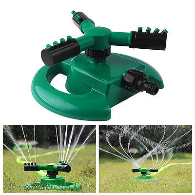 Fully Circle Rotating Sprinkler Durable Rotary Compatible Garden Hose Fitting