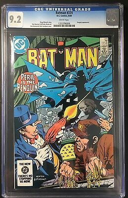 BATMAN COMIC #374 DC Comics (1984) SLABBED CGC 9.2 HIGH GRADE!!