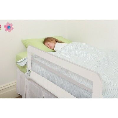 Harrogate White Kids Portable Cot Bed Safety Rail Guard