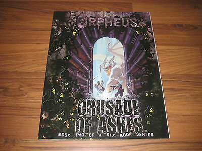 Orpheus Book Two Crusade Of Ashes Sourcebook SC White Wolf WW21001 Wraith