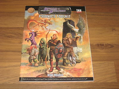 d20 Psionics Toolkit Accessory SC Fiery Dragon Productions 2002