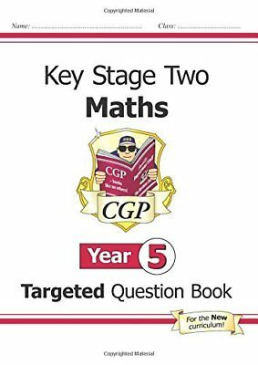 KS2 Maths Targeted Question Book - Year 5 CGP K by Cgp Books New Paperback Book
