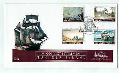 2007 NORFOLK ISLAND 1st CONVICT SETTLEMENT      FDC
