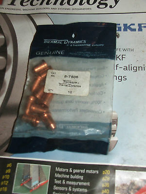 Genuine Thermal Dynamics Plasma Cutter Parts Nozzles 8-7506 made in the USA