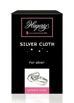 Hagerty Silver Cloth Jewellers Polishing Cleaning silver