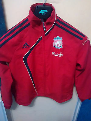 Adidas Liverpool FC child's Jacket - Size 9-10y