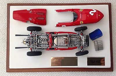 Exoto 1:18 Ferrari 156 Phil Hill Signed!