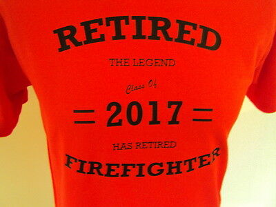 Retired Firefighter The Legend Has Retired - Fire Service- Brigade Uniform