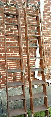 (1) Putnam Rolling Ladder / Library Ladder  Mounting Brackets (One)