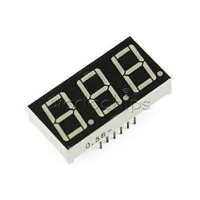 5PCS 0.56 inch 3 digit Red Led display 7 segment Common Cathode New