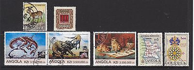 Some stamps of Angola