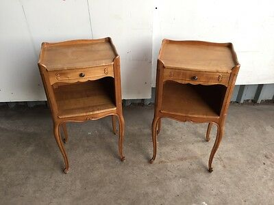 tall french bedsides