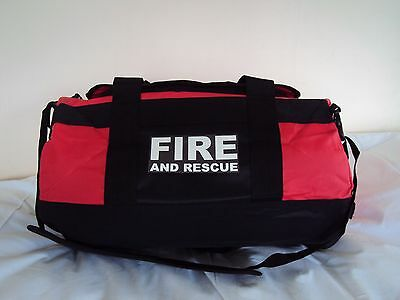 Fire & Rescue Printed Holdall Work Bag-Emergency Services