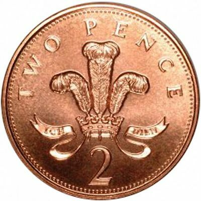 1971-2016 Uk Gb Decimal 2P Two Pence Coins - Select Dates From List