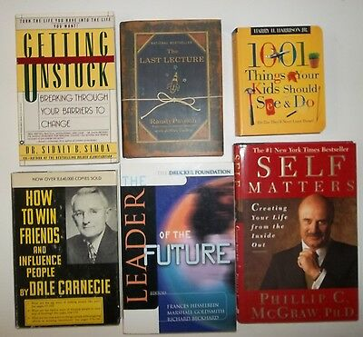 Dale Carnegie HOW TO WIN FRIENDS AND INFLUENCE PEOPLE & Dr. Phil self help books