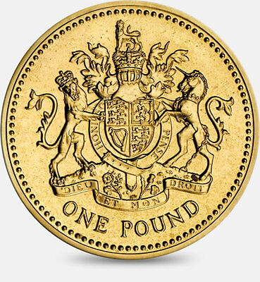 1983-2016 Uk Gb Definitive £1 One Pound Coins - Select Dates From List