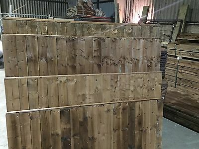 6x6 Close Board / Feather Edge / Fence Panels