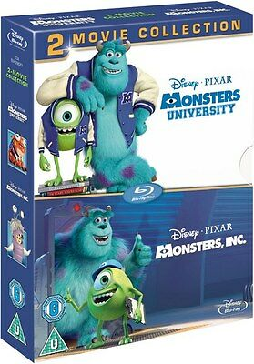 MONSTERS, INC. / UNIVERSITY 1 & 2 [Blu-ray Box Set] 2-Movie Disney Collection