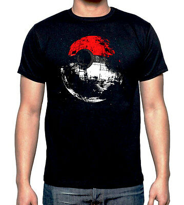 Death Star Pokeball Unisex T-Shirt - STAR WARS POKEMON Mash Up T-shirt