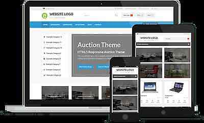 Your Own Online Auction Website Business Instantly!-Everything Built In!