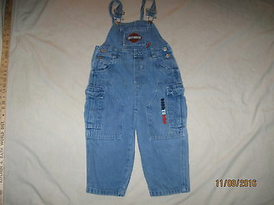 Harley Davidson Motorcycles Overalls 3T Toddler Boys Youth HD Creeper Romper