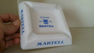 Cendrier MARTELL COGNAC Ancien Collection Vintage PÄLINE made in france