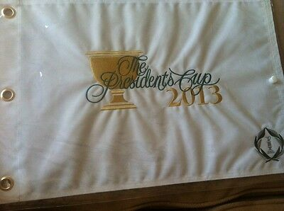 Golf Flag 2013 PRESIDENTS CUP FLAG Us Open PGA Ryder Cup British Open New