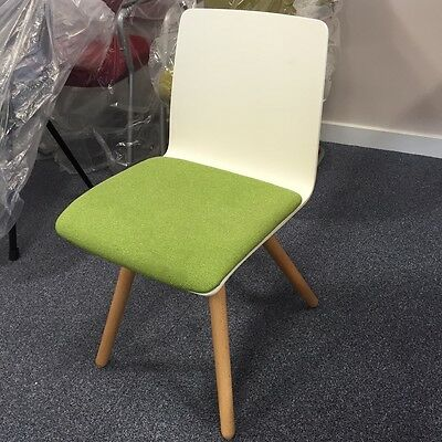 Quality Beech Shell Chair For Home Office Meeting Area Or Student Bedroom