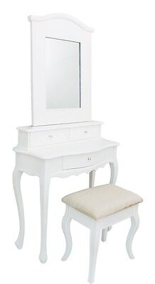 French White Bedroom Furniture Set