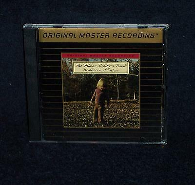 Mfsl Cd  The Allman Brothers Brothers And Sisters - Mobile Fidelity  Gold Disc