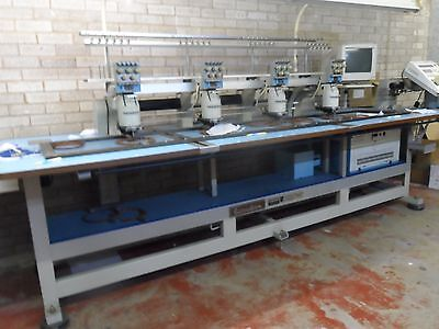 Embroidery Machine Barudan High Speed Automatic & with two other machines