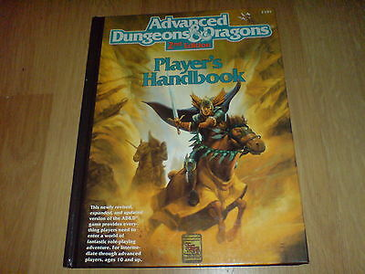Dungeons & Dragons 2nd Edition Players Handbook.
