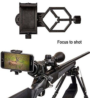 Universal Mobile Phone Holder,Spotting Scope Cellphone Adapter Mount- Universal