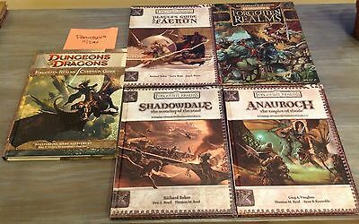 Forgotten Realms: Anauroch | Shadowdale | Faerun | Elminster | Campaign Guides