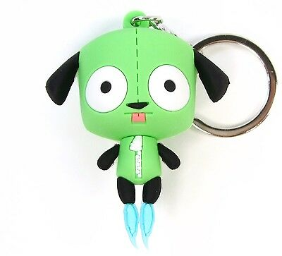 INVADER ZIM 3D Collectors Keyring Series GIR DOG SUIT DISGUISE FIGURAL KEYCHAIN