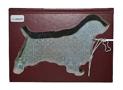 Clumber Spaniel Upcycled Book - 004