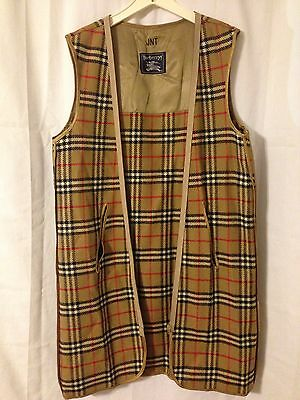 Burberry Authentic Wool Nova Plaid Trenchcoat Liner Only. See Measurements