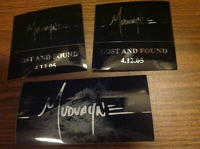 Lot of THREE STICKERS! Huge rare Mudvayne promo sticker awesome 3 stickers total