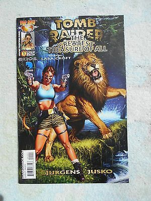 Tomb Raider Greatest Treasure of All # 1 NM- 9.2