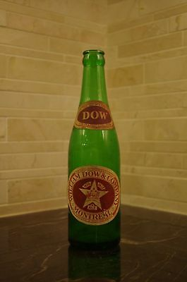 William Dow & Company Beer Bottle